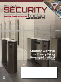 Security Today Magazine - October 2019