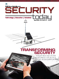 Security Today Magazine - April 2021