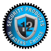 Reader's Choice Award 2012 Security Products Magazine