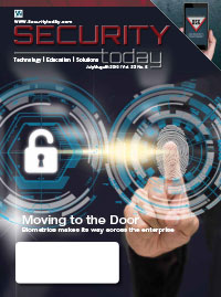 Security Today Magazine - July August 2019