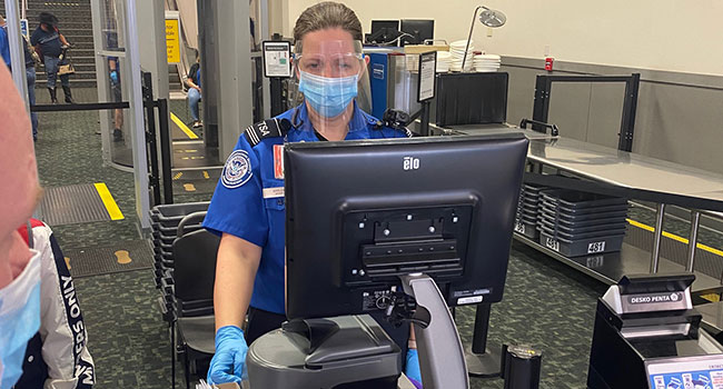 TSA Using credential authentication technology to improve identification verification capabilities
